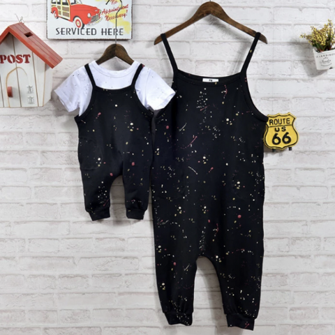 SPOTTED JUMPSUIT